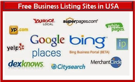 Free business listing in USA