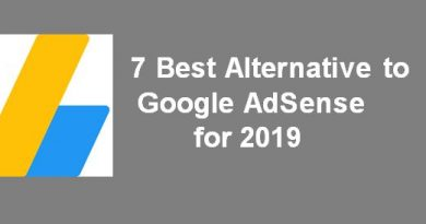 7 Best Alternative to Google AdSense