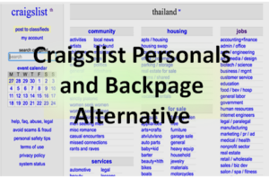 Best Craigslist Personals and Backpage Alternatives