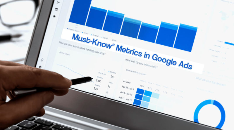 The _Must-Know_ Metrics in Google Ads - Do you know all of them