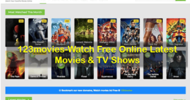 123movies – Is it Safe &Legal to watch free online movies?
