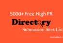 5000 Directory Submission Sites List 2020