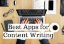 Best 5 apps for Content Writers