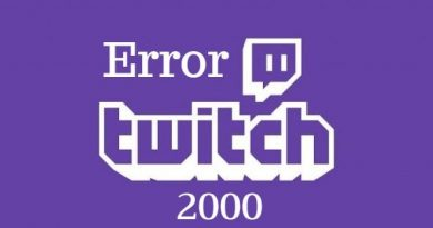 Fix: 'Error 2000 Twitch' on windows (chrome & Mozilla firefox)