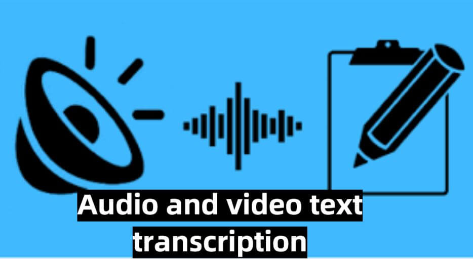 audio and video text transcription